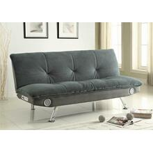 Casual Upholstered Sofa Bed With Bluetooth Speakers Grey available in different colors.