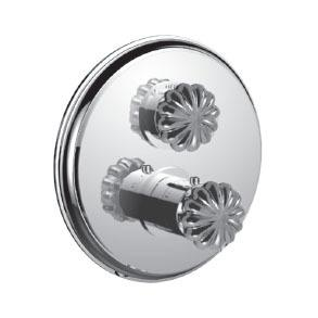"7095tt-tm - 1/2"" Thermostatic Trim With Volume Control in Standard Pewter"