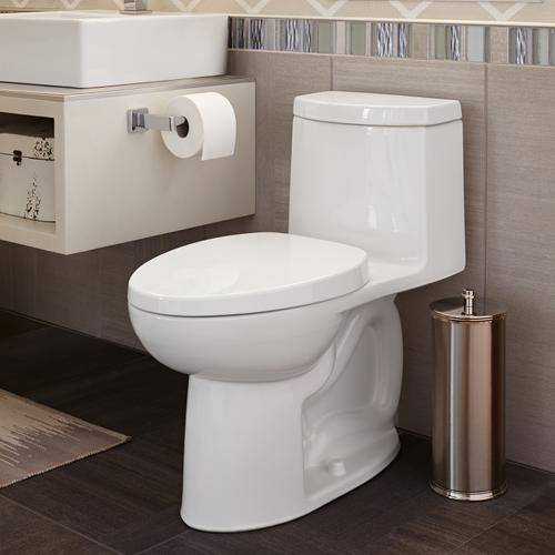 American Standard - Loft Right Height Elongated One-Piece Toilet - White