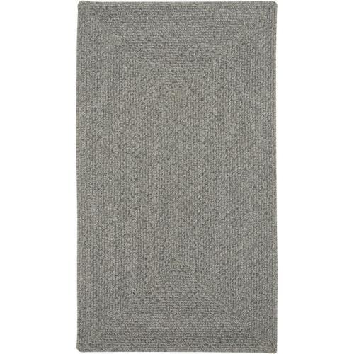 Heathered Grey Braided Rugs (Custom)
