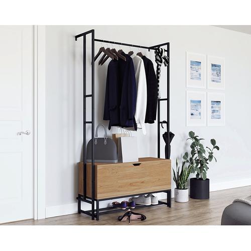 Wall-mounted Entryway Storage Organizer