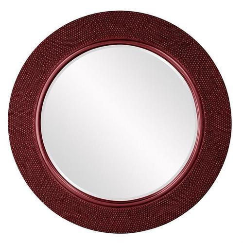 Howard Elliott - Yukon Mirror - Glossy Burgundy