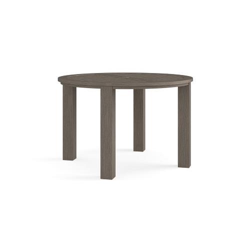 Bassett Furniture - Aluminum Farm Tables Round Dining Table