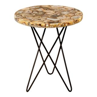 Natura Agate Accent Table