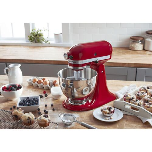 KitchenAid - Ultra Power® Plus Series 4.5-Quart Tilt-Head Stand Mixer Empire Red