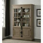 ACME Eleonore Curio Cabinet - 61303 - Weathered Oak Product Image