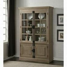 ACME Eleonore Curio Cabinet - 61303 - Weathered Oak