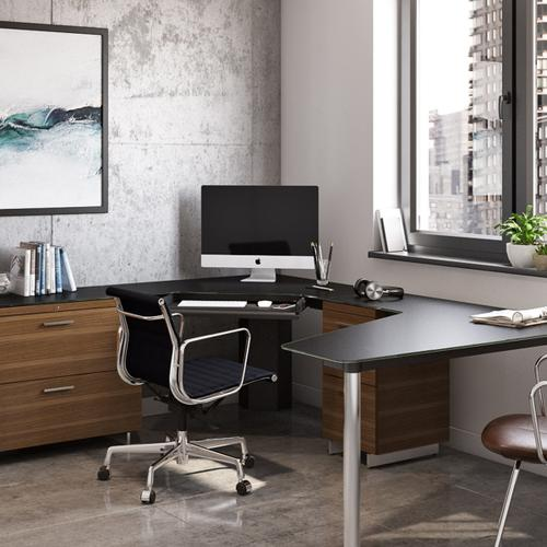 Corner Desk 6019 in Black