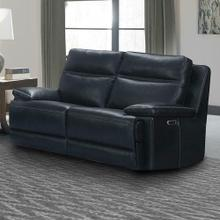 See Details - PAXTON - NAVY Power Loveseat