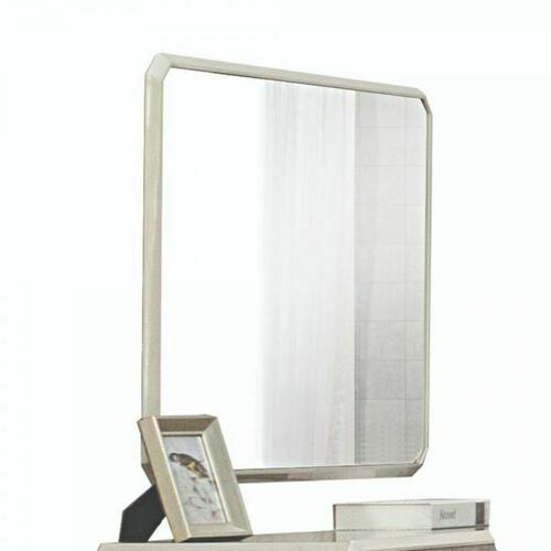 ACME Kordal Mirror - 27204 - Vintage Beige PU