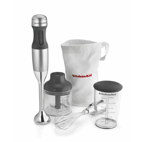 KitchenAid Canada - 3-Speed Hand Blender - Contour Silver