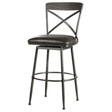 Decker Commercial Grade Swivel Bar Height Stool