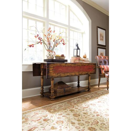 Living Room Vicenza Drop Leaf Console Table