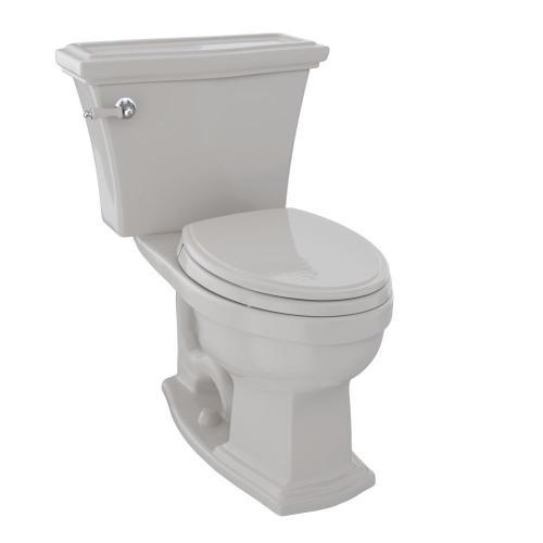 Eco Clayton® Two-Piece Toilet, 1.28 GPF, Elongated Bowl - Sedona Beige