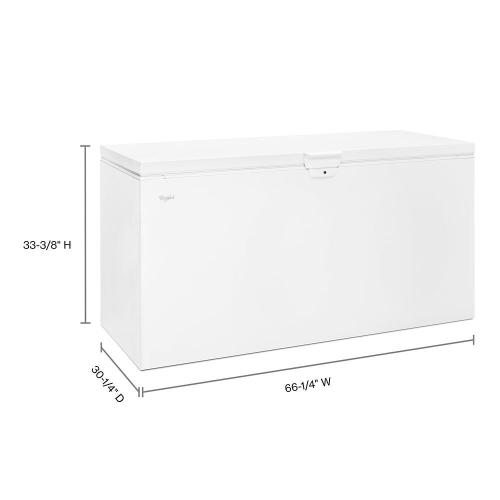 Gallery - 22 cu. ft. Chest Freezer with Extra-Large Capacity