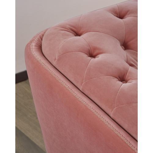 VIG Furniture - Divani Casa Aiken - Modern Salmon Velvet Loveseat