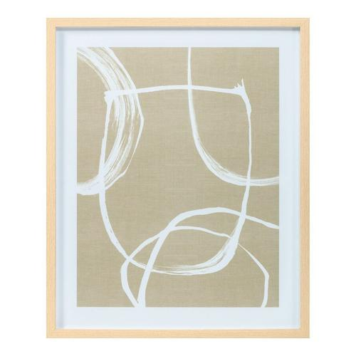 Moe's Home Collection - Confidence Abstract Print