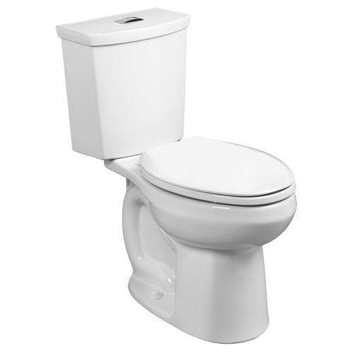 H2Option 15-inch Round Front Dual Flush Toilet - Bone