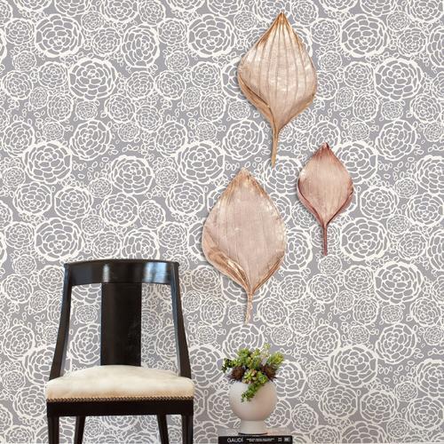 Howard Elliott - Champagne Leaf Wall Decor, Medium