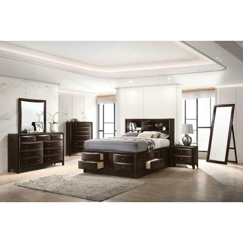 Coaster - Ca King 4pc Set (KW.BED, Ns, Dr, Mr)