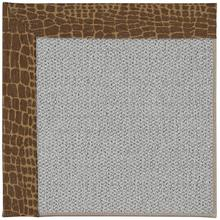 Inspire-Silver Alligally Toffee Machine Tufted Rugs