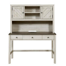 2 Door Desk Hutch