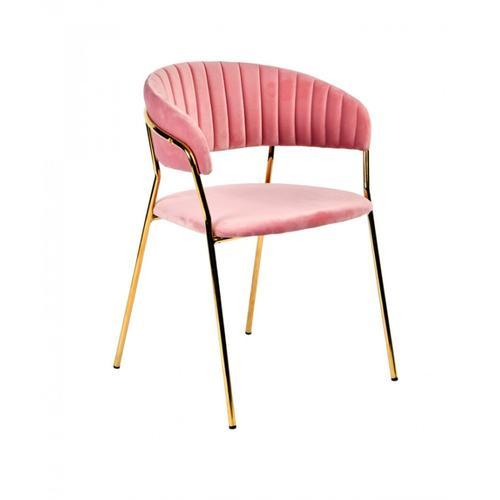 VIG Furniture - Modrest Brandy Modern Pink Fabric Dining Chair (Set of 2)