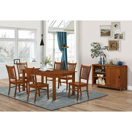 See Details - Morrisa Mission Dining Table