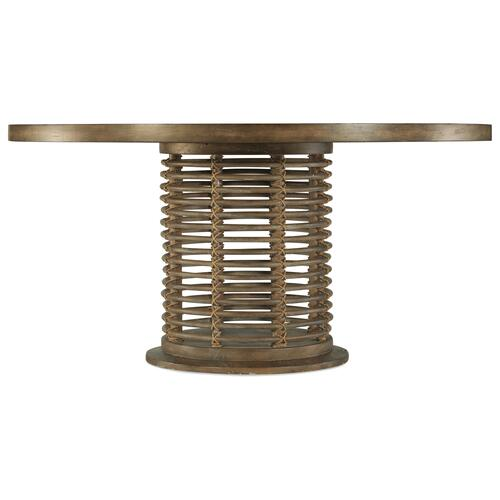 Hooker Furniture - Sundance 60in Rattan Round Dining Table