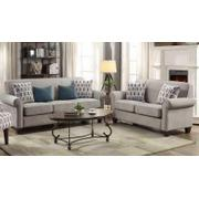 Gideon Transitional Cement Two-piece Living Room Set Product Image