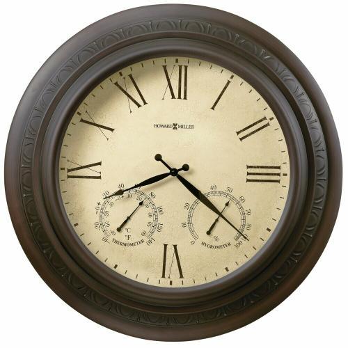 Howard Miller Copper Harbor Oversized Wall Clock 625464