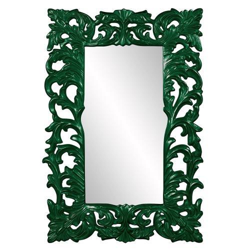 Howard Elliott - Augustus Mirror - Glossy Hunter Green