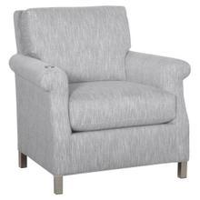 Greek Key Arm Lounge Chair