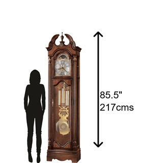 See Details - Howard Miller Langston Grandfather Clock 611017