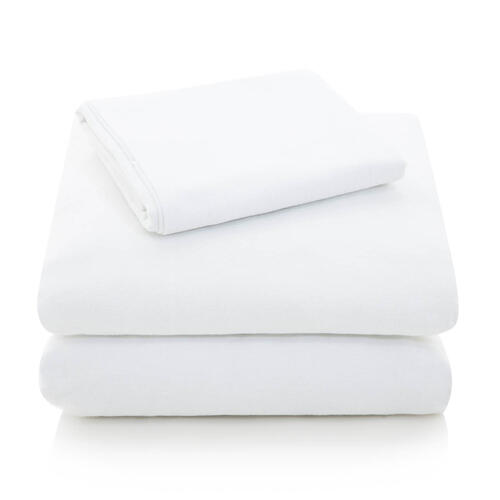 Portuguese Flannel Queen Pillowcase Oatmeal