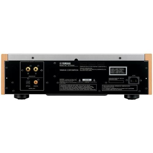 CD-S1000 Black Natural Sound Super Audio CD Player
