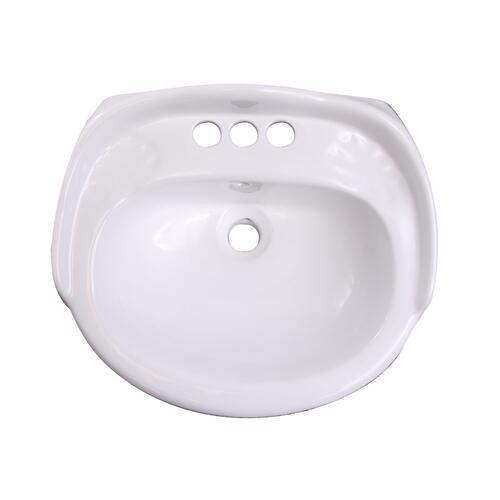 "Arianne Wall-Hung Basin - 4"" Centerset"