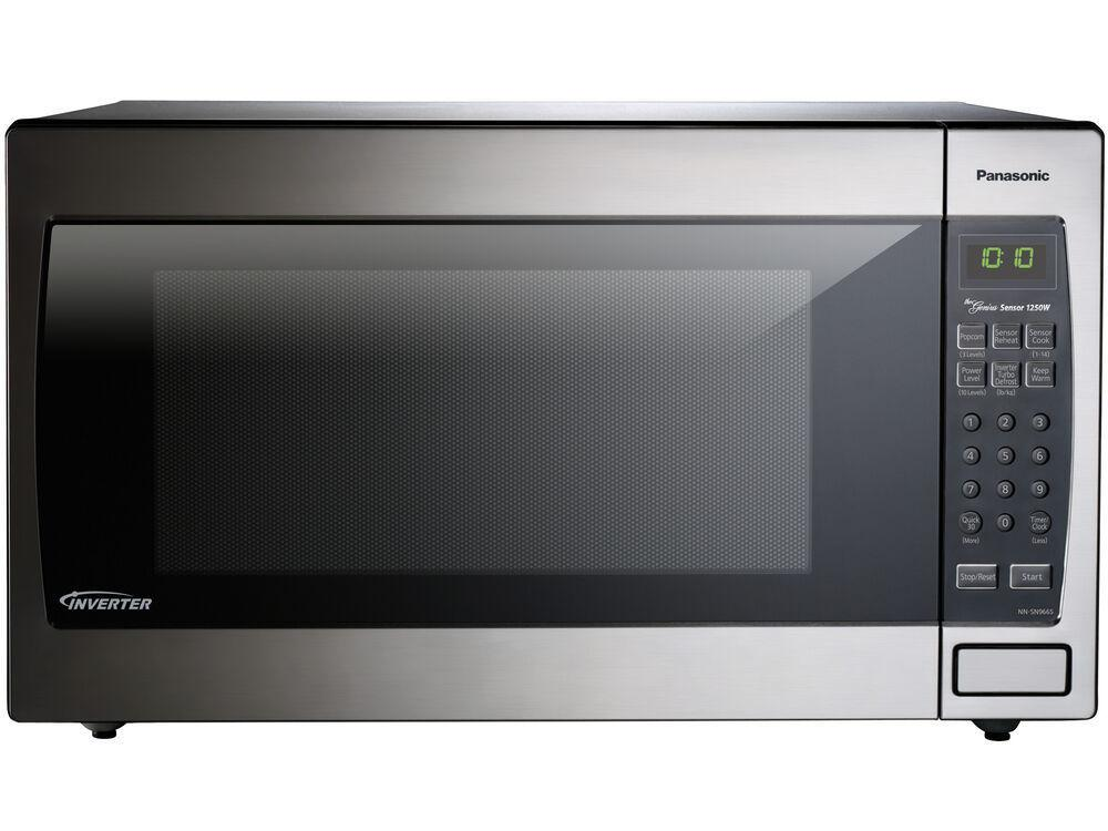 Panasonic2.2 Cu. Ft. Built-In/countertop Microwave With Inverter Technology - Nn-Sn966sr