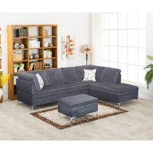 Jordan blue sectional
