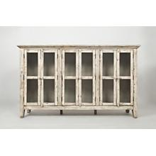 "Rustic Shores 70"" Accent Cabinet"