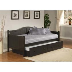 Staci Complete Twin-size Daybed With Trundle, Black