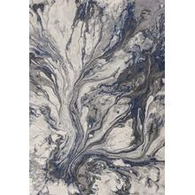 """View Product - Illusions 6202 Grey Watercolors Area Rug 5'3"""" X 7'7"""""""