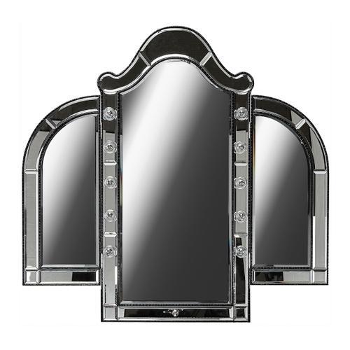 Amini - Vanity Mirror Black Iguana