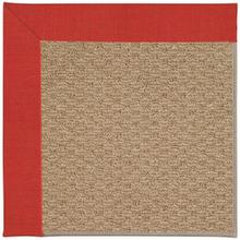 "Creative Concepts-Raffia Dupione Crimson - Rectangle - 24"" x 36"""