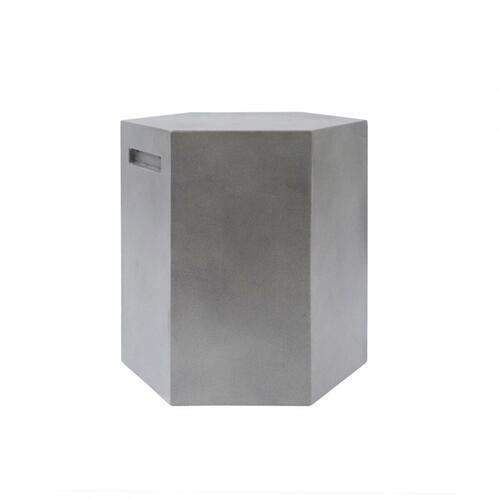 VIG Furniture - Modrest Cruz Modern Grey Concrete Stool