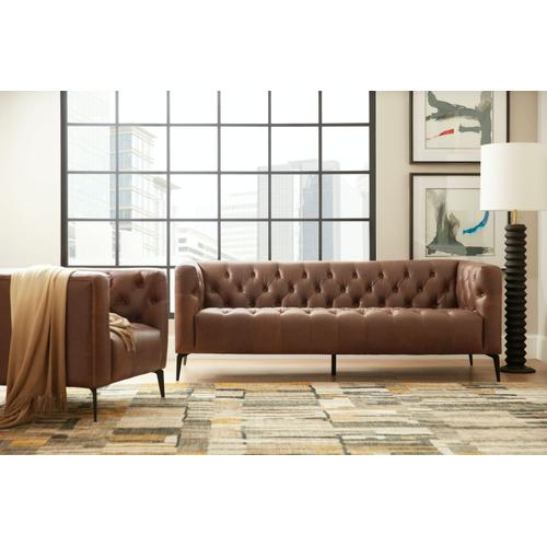 Living Room Nicolla Leather Stationary Chair
