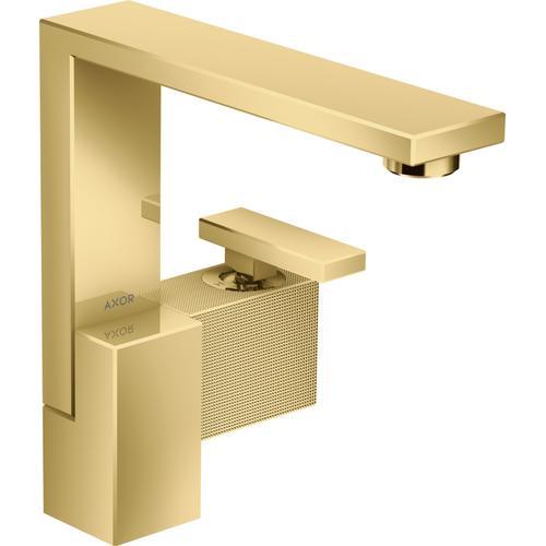 AXOR - Polished Gold Optic Single-Hole Faucet 190 - Diamond Cut, 1.2 GPM