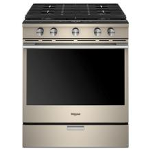 Display Model 5.8 cu. ft. Smart Slide-in Gas Range with EZ-2-Lift Hinged Cast-Iron Grates