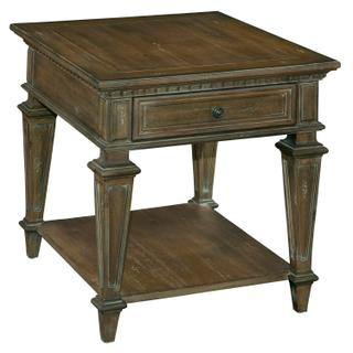 1-9202 Turtle Creek Rectangular Drawer End Table