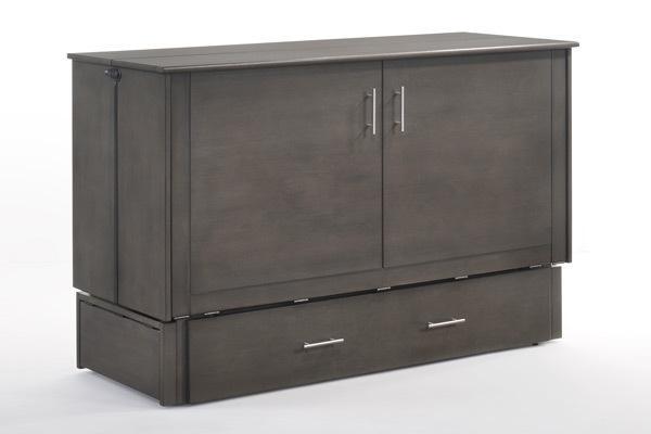 Night And Day FurnitureSagebrush Murphy Cabinet Bed In Stonewash Finish